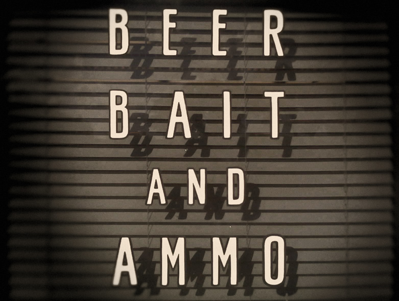 Beer Bait And Ammo